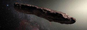 Yıldızlararası ziyaretçi, Asteroit Oamuamua
