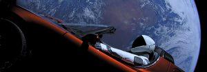 Uzaydaki kırmızı Tesla
